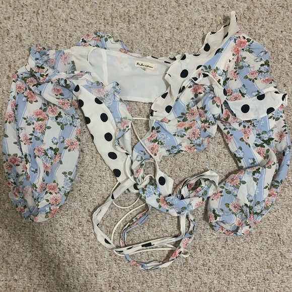 For Love And Lemons Tops - St. Louis crop top